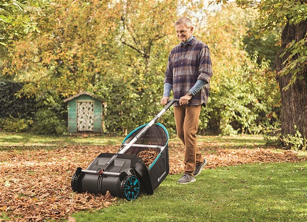 The new GARDENA Leaf- and Grass Collector – already available from autumn 2020
